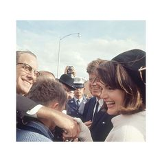 It's been a while!!  I am back to posting regularly! Here is my role model Jackie Kennedy in San Antonio Texas November 21 1963. She was so kind to all of her fans. by jackiekennedy.o
