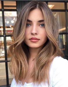 Brown Hair Balayage, Brown Blonde Hair, Light Brown Hair, Hair Color Balayage, Blonde Balayage, Cool Blonde Hair Colour, Hair Color And Cut, Hair Color Highlights, Clavicut