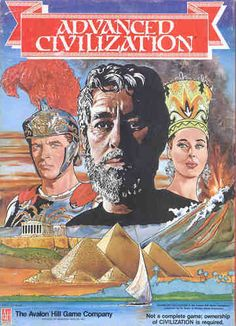 Advanced Civilization (Civilization Expansion) - from Avalon Hill.  This could very well be the epitome of board game evolution.