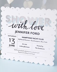 Shower the new mommy-to-be with love with personalized baby shower invitations. | Tiny Prints