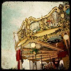 Merry-go-round at Vannes