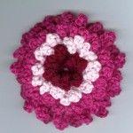 розовый и белый цветочный узор ламинированная сетка