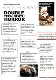 romeo and juliet timeline worksheet pdf