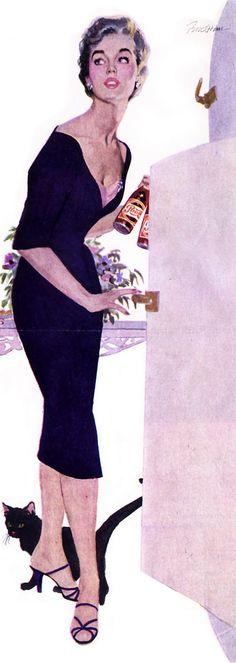 Lynn Buckham ad art
