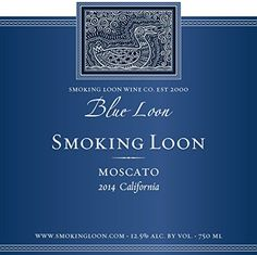 2013 Smoking Loon Blue Loon Moscato -- Check this awesome product by going to the link at the image.