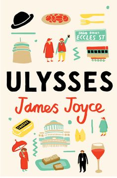 It's nearly Bloomsday! Here's a Ulysses cover!  It was for an Irish Times competition