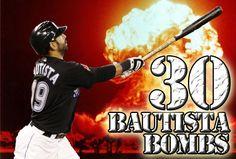 Bautista bombs