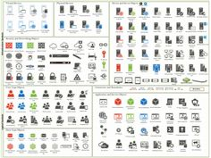 Microsoft Visio Stencil Links Collection