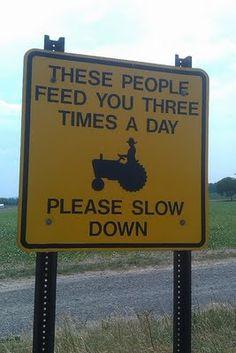 thank a farmer!!