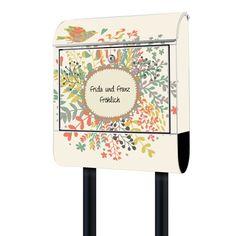 Briefkasten mit Wunschtext   banjado Manufaktur Office Supplies, Ideas, Home Decor, Letters, Mailbox, Crafting, Decoration Home, Room Decor, Home Interior Design