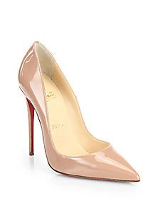 Christian Louboutin - So Kate Patent Leather Pumps
