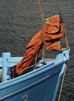 détails bateau, port de Brest