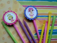 Lalaloopsy+candy+straws+perfect+for+candy+buffet+by+bellecaps,+$0.75