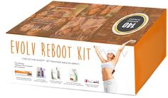 All about the Reboot Kit!  To order Evolv Products ~ http://stephaniebenson.myevolv.com/#/Home
