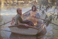 Serenity by Morgan Weistling MASTERWORK CANVAS EDITION