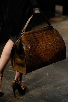 Donna Karan brown bag