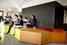 Colorful & Multifunctional Learning Spaces At The Vittra School, Stockholm ~ DesignDaily