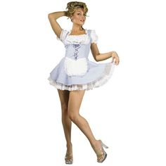 Adult Sexy Dorothy Costume With Petticoat