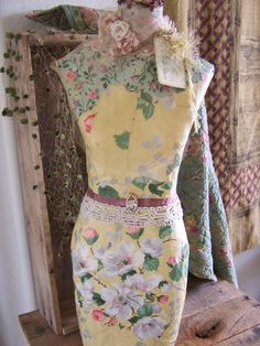 Paper mache doll dress forms -- could you make these from old ...