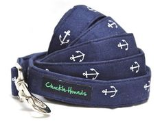 Anchor Leash for Dogs by chucklehounds on Etsy