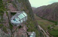 Sky Lodge, un exclusivo hotel en los Andes con vistas... ¡al precipicio! | Lugares de Nieve
