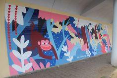 Mural (Restauração's Street) on Behance