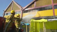Connato de incendio en mercado de Juchitán.