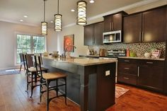 The Enclave at Glen Lakes, Ronald Reagan Home - transitional - Kitchen - Louisville - Jagoe Homes Inc