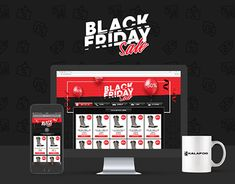 """Check out new work on my @Behance portfolio: """"Landing Page for Black Friday 2017"""" http://be.net/gallery/63614013/Landing-Page-for-Black-Friday-2017"""