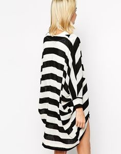 Image 2 ofRiver Island Stripe Lightweight Cardigan