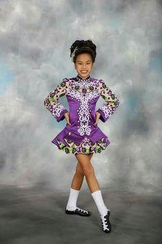 Elevation Celtic Dress, Irish Dance, Dance Fashion, Just Dance, Dance Dresses, Purple Dress, Dance Costumes, Harajuku, Jade