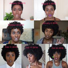 #natural #hair #kinky #4a #4b #4c #beautiful #2years #journey