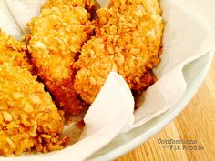 Krispie Baked Chicken is a healthy, 21 Day Fix approved substitute for Fried Chicken! It's gluten-free, dairy-free, and totally kid friendly! Confession #108 – Back in my single days, I took a cooking class with a friend of mine through an adult evening class at a local high school. I'm pretty sure we thought we...