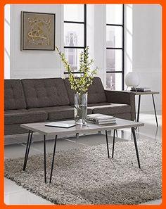 Altra Owen Retro Coffee Table, Sonoma Oak/Gunmetal Gray - Improve your home (*Amazon Partner-Link)