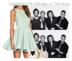 """""""Celebrating My Birthday w/ The Boys"""" by fangirl-1d ❤ liked on Polyvore featuring Nly Shoes, Dolce&Gabbana, Napoleon Perdis and Vince Camuto"""