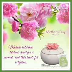 Make mom smile this mothers day!!! Go to https://alysamay.scentsy.ca now!