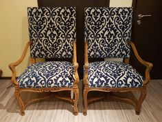 Restored arm chairs