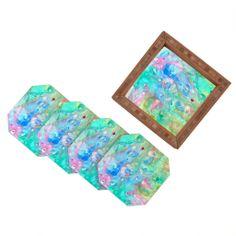 Rosie Brown Happiness 3 Coaster Set on Wanelo #coaster #bar #beverage #homedecor #forthehome #denydesigns #art #denyholiday