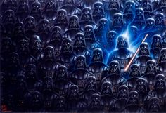 Will the real Darth Vader please stand up...