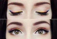 Rainbow eyes...