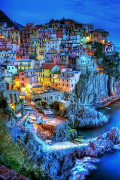 Italy. I just want to see every square inch of this country.