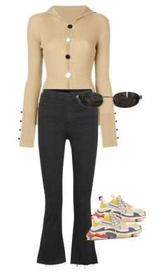 """""""Untitled #714"""" by reefanlooks ❤ liked on Polyvore featuring Jacquemus, Mother, Balenciaga and Tom Ford"""