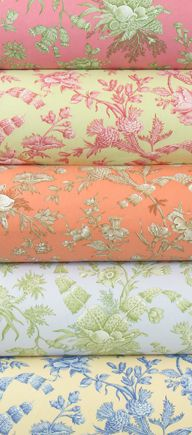 If it is chintz or toile, I love it.  :)