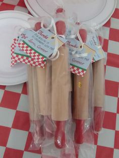 CUSTOMIZED Little Chef Party Favors Rolling Pin by PartyMyWay