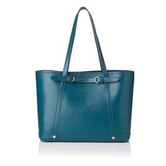 Katie Printed Leather Small Tote £110