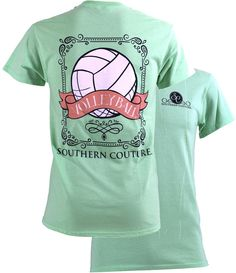 Southern Couture Volleyball Tee