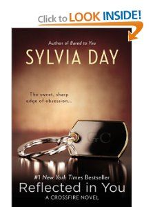 Reflected in You by Syliva Day- Gideon and Eva continue... can't wait for the 3rd book in June!