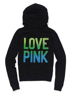 Bling Perfect Zip Hoodie - Victoria's Secret Pink®