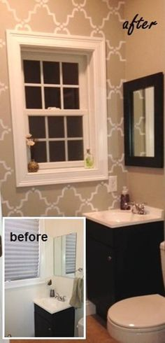 Before & After Mirror Makeover Blog - Designer Kate Hart + Customer Creativity = One Fabulous Makeover! | MirrorMate Frames