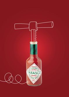 Good Advertisements, Clever Advertising, Advertising Design, Ads Creative, Creative Posters, Poster Ads, Advertising Poster, Tabasco, Campaign Posters
